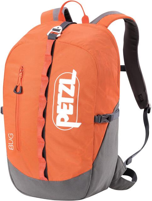 Petzl Klettergurt Calidris : Petzl bug backpack red campz